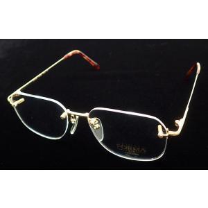 CITIZEN シチズン フォルマ 眼鏡 メガネ フレーム K18 イエローゴルド 金 18金 べっ甲カラー ベッコウ べっこう (k) blumin