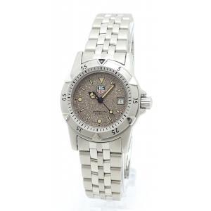 (ウォッチ)TAG Heuer タグ ホイヤー プロフェッショナル 1500シリーズ グレー文字盤 デイト 200m防水 レディース クォーツ 腕時計 WD1411-PO(k)|blumin