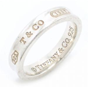 (ジュエリー)TIFFANY&Co. ティファニー 1837 ナローリング 指輪 10号 #10 SV925 シルバー(u)|blumin