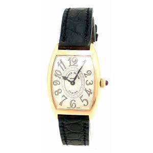 (ウォッチ)FRANCK MULLER フランク ミュラー トノーカーベックス ピンクゴールド センターダイヤ レディース クォーツ 腕時計 国内正規品 1752QZ CD 1R REL5N(u) blumin