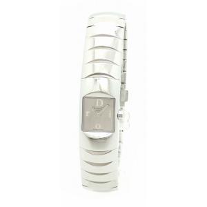 (ウォッチ)Christian Dior クリスチャン ディオール ディオリフィック シルバー文字盤 ブレスレット レディース QZ クォーツ 腕時計 D102-100(u) blumin