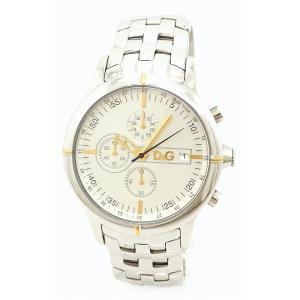 (ウォッチ)DOLCE&GABBANA ドルチェ&ガッバーナ D&G オックスフォード クロノグラフ シルバー文字盤 SS メンズ QZ クォーツ 腕時計 DW0481(k)|blumin
