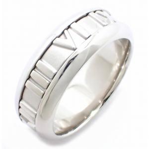 (ジュエリー)TIFFANY&Co. ティファニー アトラス リング 指輪 11.5号 #11 K18WG 750WG ホワイトゴールド(u)|blumin