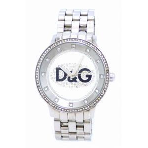 (ウォッチ)DOLCE&GABBANA ドルチェ&ガッバーナ D&G プライムタイム ラインストーン ホワイトダイアル SS メンズ クォーツ 腕時計 DW0145(u)|blumin
