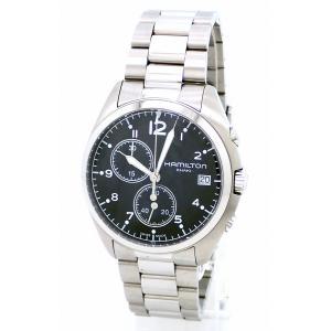 (ウォッチ)HAMILTON ハミルトン カーキ パイロット パイオニア クロノグラフ デイト ブラック文字盤 SS メンズ QZ クォーツ 腕時計 H76512133(u)|blumin