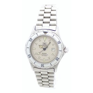 (ウォッチ)TAG Heuer タグ ホイヤー プロフェッショナル 2000シリーズ デイト シルバー文字盤 200m レディース QZ クォーツ 腕時計 972.015(k)|blumin