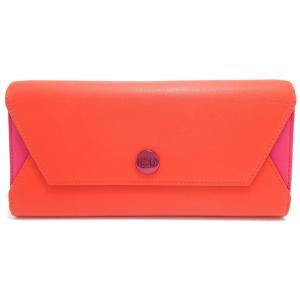 (財布)Christian Dior クリスチャン ディオール ロゴ レザー オレンジ ピンク (u) blumin