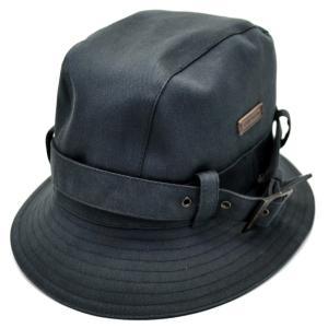 (アパレル)LOUIS VUITTON ルイ ヴィトン キャンバス 帽子 ハット XSサイズ ダミエ柄 コットン70% ポリウレタン30% ブルーグレー系色 (k) blumin