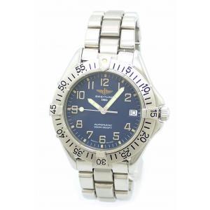 (ウォッチ)BREITLING ブライトリング コルトオーシャン デイト ブルー文字盤 300m ダイバー メンズ AT オートマ 腕時計 A1732116/C832 A17035(u)|blumin
