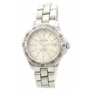 (ウォッチ)BREITLING ブライトリング コルトオーシャン デイト ホワイト文字盤 500m ダイバー メンズ AT オートマ 腕時計 A17350(k)|blumin