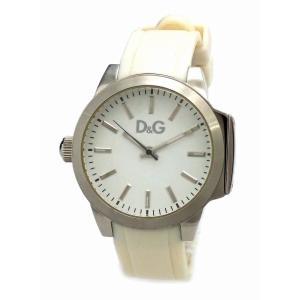 (ウォッチ)DOLCE&GABBANA ドルチェ&ガッバーナ D&G ホワイト文字盤 SS ウレタンベルト メンズ クォーツ 腕時計(k)|blumin