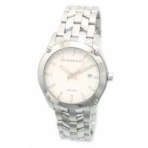 (ウォッチ)BURBERRY バーバリー デイト ホワイト文字盤 メンズ QZ クォーツ 腕時計 BU1852(u) blumin