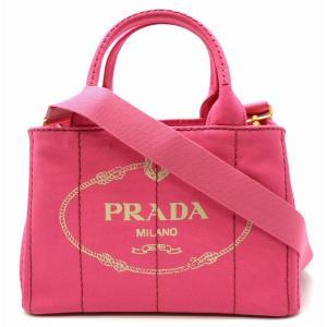 (バッグ)PRADA プラダ CANAPA カナパ トートバッグ ハンドバッグ 2WAY ショルダーバッグ デニム ピンク PEONIA 1BG439 (k)|blumin