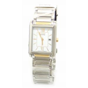 (ウォッチ)CITIZEN シチズン シチズンコレクション ホワイト文字盤 エコドライブ メンズ 腕時計 E011-S045193 FRA59-2432(u) blumin