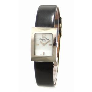 (ウォッチ)Christian Dior クリスチャン ディオール マリス シェル文字盤 レディース QZ クォーツ 腕時計 D78-109(k) blumin