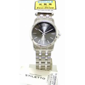 (ウォッチ)CITIZEN シチズン シチズンコレクション STILETTO ステレット ブラック文字盤 エコドライブ メンズ 腕時計 SID66-5132 G430-T010938(k) blumin