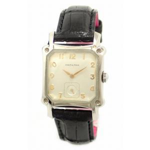 (ウォッチ)HAMILTON ハミルトン ロイド スモールセコンド シルバー文字盤 SS レザーベルト レディース QZ クォーツ 腕時計 6295(k)|blumin