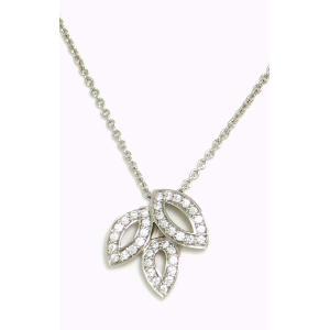 (ジュエリー)HARRY WINSTON ハリー ウィンストン リリークラスター ネックレス ペンダント ミニ Pt950 プラチナ ダイヤモンド ダイヤ D0.19ct(k)|blumin
