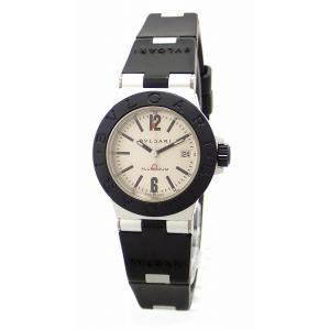 (ウォッチ)BVLGARI ブルガリ アルミニウム 29MM デイト シルバー文字盤 レディース QZ クォーツ 腕時計 AL29TA(u)|blumin