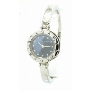 (ウォッチ)BVLGARI ブルガリ B.zero1 B-zero1 Bzero1 ビーゼロワン 12Pダイヤ シェル文字盤 バングル Sサイズ レディース クォーツ 腕時計 BZ23BSS(k)|blumin