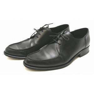 (靴)GUCCI グッチ 紳士靴 レースアップシューズ シューズ レザー 黒 ブラック メンズ サイズ#401/2 25.5cm(k)|blumin