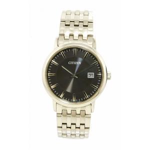 (ウォッチ)CITIZEN シチズン エコドライブ SS ブラックダイヤル メンズ 腕時計 E111-S067901(k) blumin