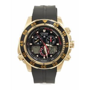 (ウォッチ)CITIZEN シチズン PROMASTER プロマスター エコドライブ クロノグラフ 回転ベゼル GP ラバーベルト メンズ 腕時計 C660-S067634 JR4046-03E(u) blumin