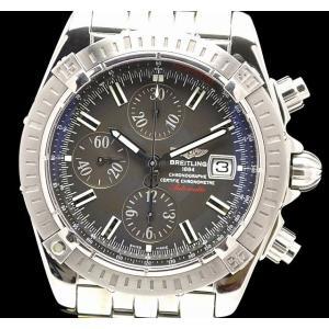 (ウォッチ)BREITLING ブライトリング クロノマット エボリューション クロノグラフ グラファイトグレー 42mm メンズ AT オートマ 腕時計 A13356(k)|blumin