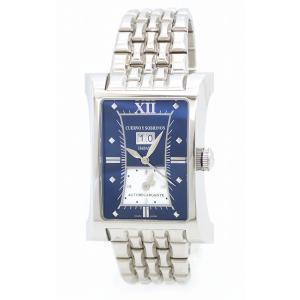(ウォッチ)CUERVO Y SOBRINOS クエルボ イ ソブリノス エスプレンディドス デュアルタイム ビッグデイト スケルトン SS メンズ AT オートマ 腕時計 A2451/1(k)