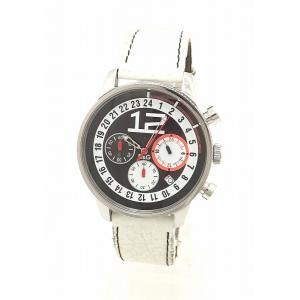 (ウォッチ)DOLCE&GABBANA ドルチェ&ガッバーナ D&G クロノグラフ ブラック文字盤 SS 革ベルト メンズ クォーツ 腕時計 (k)|blumin