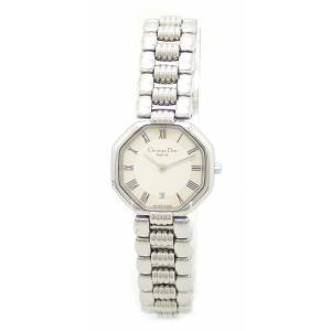 (ウォッチ)Christian Dior クリスチャン ディオール スウィング スイング SS レディース クォーツ 腕時計 D48-106-1(k) blumin