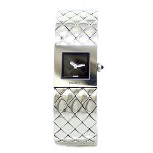 (ウォッチ)CHANEL シャネル マトラッセ SS レディース クォーツ 腕時計 H0009(k)|blumin
