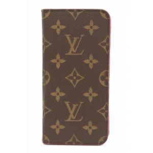 LOUIS VUITTON ルイ ヴィトン モノグラム iPhone7+ フォリオ アイフォンケース...