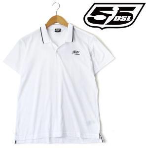 大きいサイズ メンズ XL XXL 3XL 55DSL 半袖ポロシャツ ホワイト USA直輸入 05d03l-00v51-d100|bmo