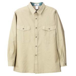 大きいサイズ 作業用シャツ アースグリーン 1063-8359-1  4L 5L|bmo