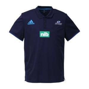 大きいサイズ メンズ adidas BLUES 半袖ポロシャツ カレッジネイビー 1148-8219-1 6XO|bmo