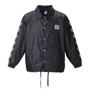 大きいサイズ メンズ GALFY コーチジャケット ブラック 1153-8100-2 3L 4L 5L 6L|bmo