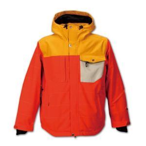 大きいサイズ メンズ nima スノボージャケット オレンジ 1156-5312-2 3L 5L 7L|bmo