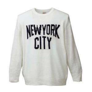 大きいサイズ メンズ SHELTY NYCクルーセーター キナリ 1158-6346-1 3L 4L 5L 6L|bmo