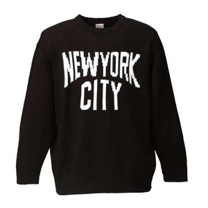 大きいサイズ メンズ SHELTY NYCクルーセーター ブラック 1158-6346-2 3L 4L 5L 6L|bmo