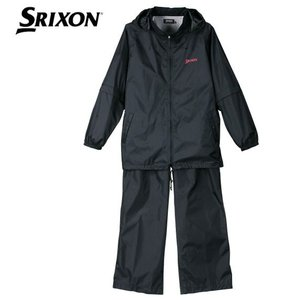 大きいサイズ メンズ 最新作 4 22 SRIXON レインスーツ ブラック 1166-0210-2  3L 4L 5L 6L 8L bmo