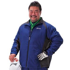 大きいサイズ メンズ SRIXON ウォームクロス中綿ジャケット ネイビー 1173-5350-1 3L 4L 5L|bmo
