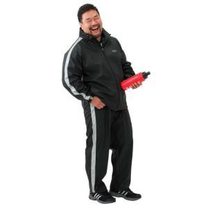 大きいサイズ メンズ TSA サウナスーツ ブラック 1176-5381-1 3L 4L 5L 6L 8L