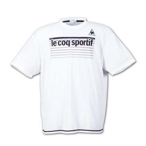 大きいサイズ メンズ LE COQ SPORTIF 半袖Tシャツ ホワイト 1178-6110-1 3L 4L 5L 6L|bmo