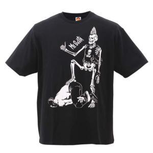 大きいサイズ メンズ 新日本プロレス SANADA「ME GUSTA」半袖Tシャツ ブラック 1178-7325-1 3L 4L 5L 6L 8L|bmo
