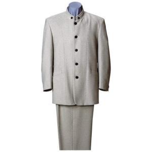 大きいサイズ 二重衿マオカラースーツ アイボリー 0022-2300-2  2L 3L 4L 5L|bmo