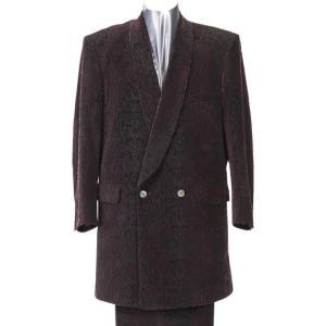 大きいサイズ ショールカラーロング丈スーツ パープル 0022-3377-2  2L 3L 4L|bmo