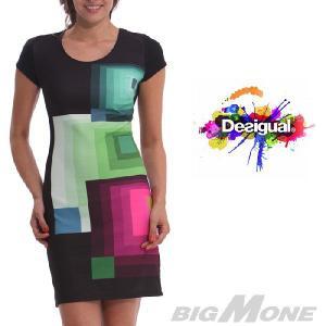 大きいサイズ レディース XL XXL Desigual デザインワンピース Dani 40v2068|bmo
