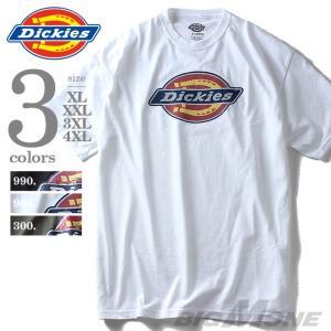 大きいサイズ メンズ Dickies ディッキーズ グラフィックプリント半袖Tシャツ USA直輸入 4101-22897|bmo