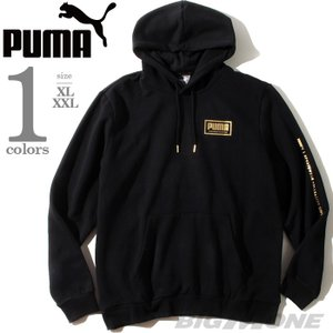 大きいサイズ メンズ PUMA プーマ ロゴプリント プルオーバー パーカー USA直輸入 5818...